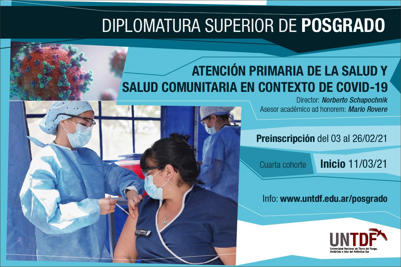 Diploma Superior de Posgrado en Atención Primaria de la Salud y Salud Comunitaria