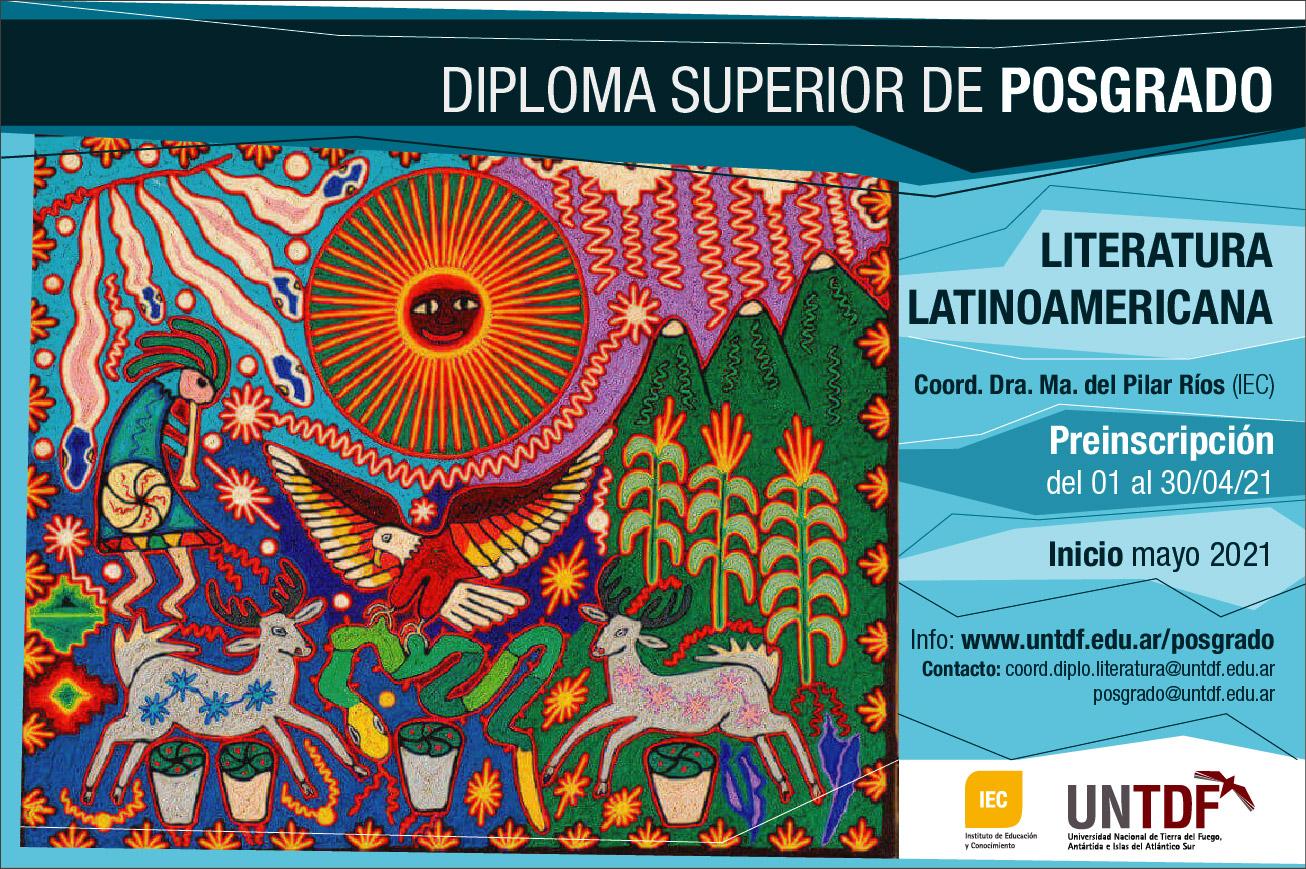 Diploma Superior de Posgrado en Literatura Latinoamericana