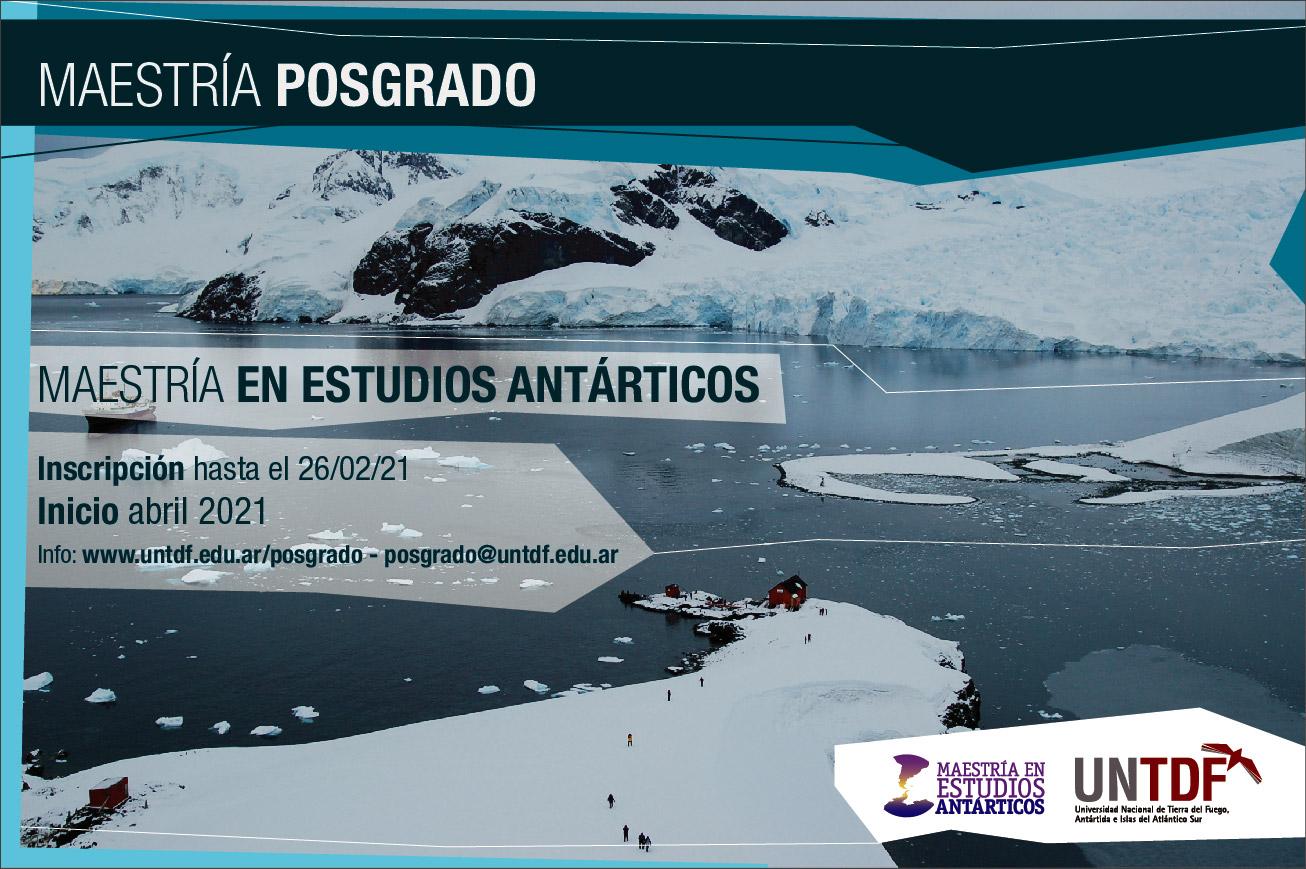 Maestría en Estudios Antárticos