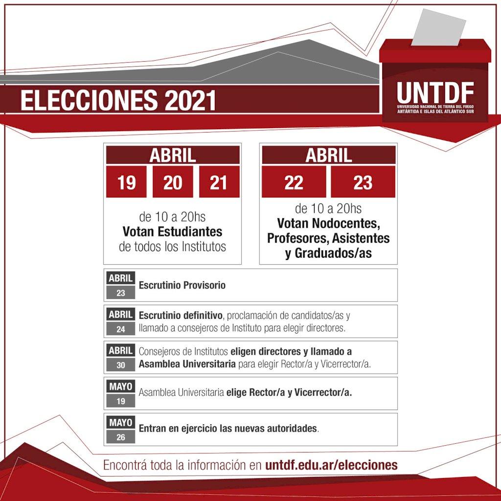 eleccionesUNTDF