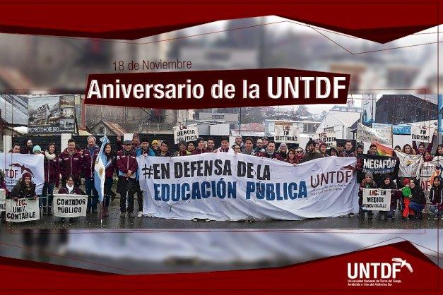 La UNTDF cumple 11 años desde su creación