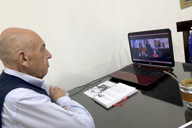 """El rector Castelucci destacó el éxito del curso """"Buenas Prácticas COVID19"""""""