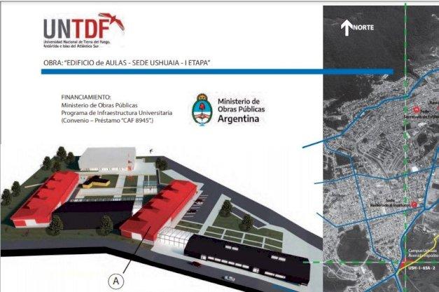 Abrió la licitación pública para la construcción de un nuevo edificio para la UNTDF