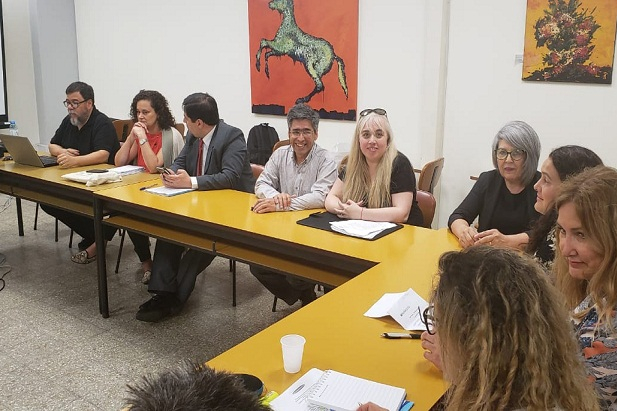 La UNTDF participó de una nueva reunión de la Red Interuniversitaria de Bibliotecas