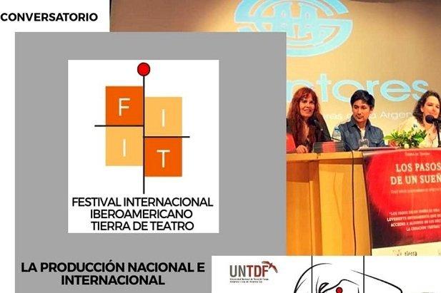"""Conversatorio sobre """"La producción nacional e internacional del Teatro"""""""