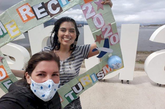 Con la nota más alta se recibió una nueva Licenciada en Turismo del IDEI/UNTDF
