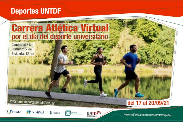 Actividades por el día del deporte Universitario