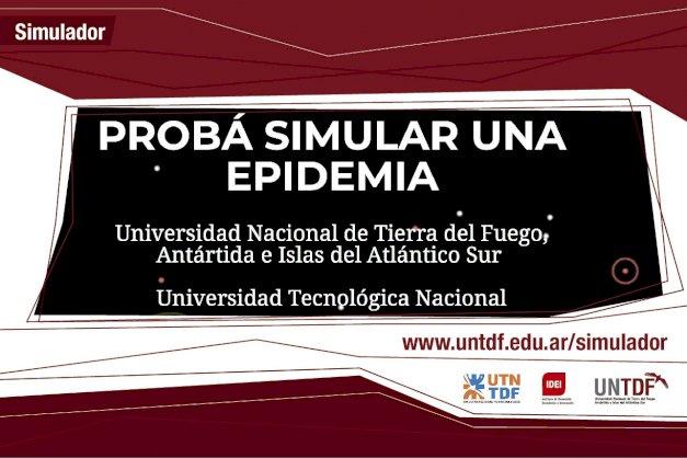 Investigadores de la UNTDF y la UTN TDF lanzan un simulador educativo para conocer cómo se propaga un virus como el COVID-19