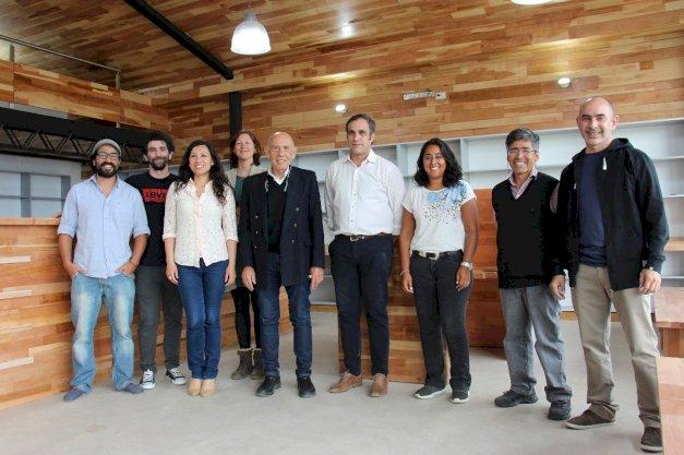 Autoridades de la UNTDF recorrieron la obra de ampliación del Campus de Ushuaia