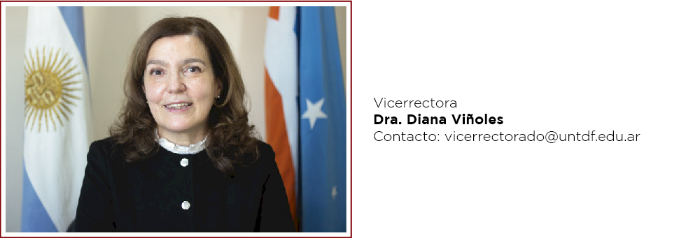 Diana Viñoles Vicerrectora